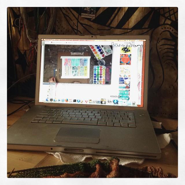 #12von12 lifebookvideos gucken..