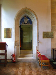 vestry doorway