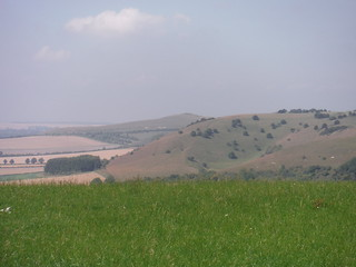Westerly Views from Huish Hill