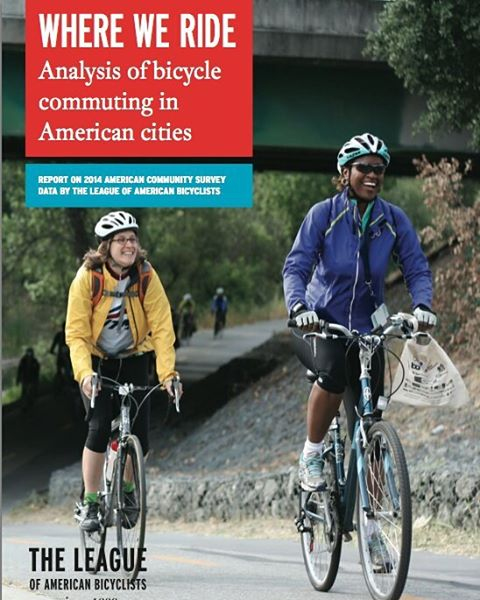 //bikeleague.org/content/where-we-ride-2014-analysis-bike-commuting  #cycling #Bicycle #bike