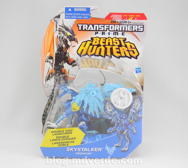 Transformers Skystalker Deluxe - Transformers Prime Beast Hunters - caja