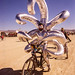 DSC02000 - Shiny Inflatable Costume with Long Arms - Burning Man 2015