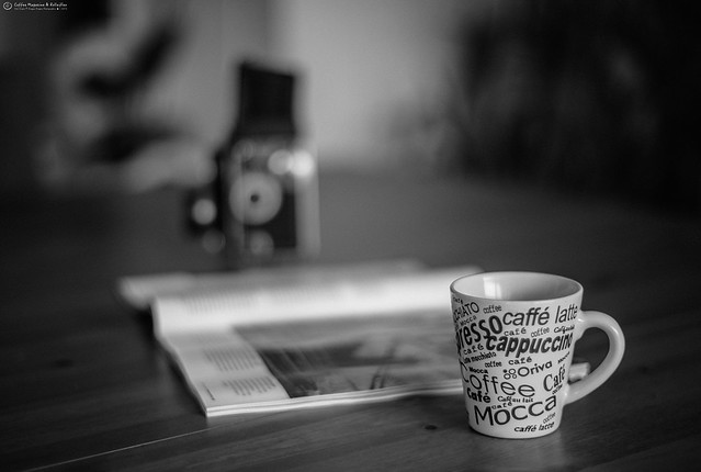 Coffee Magazine & Rolleiflex