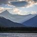 Beautiful Evening Light in Glacier National Park by Samantha Decker
