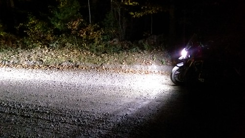 night forest offroad dirt trail triumph nightride d4 tigerexplorer denalid4 denaliauxiliarylights