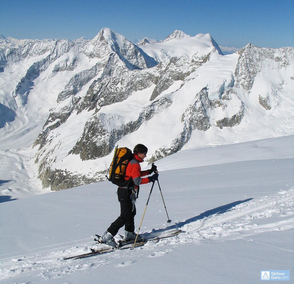 Grosser Aletschhorn Berner Alpen / Alpes bernoises Schweiz foto 03