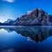 Fading Stars Over Crowfoot Mountain by Kirk Lougheed