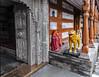 Tiger at the Door, Bhimakali Temple, Sarahan , himachal Pradesh, India