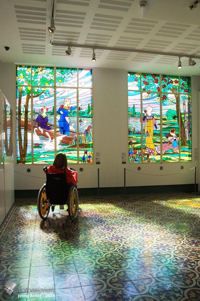 Modernisme. Sala del Museu d'Art de Cerdanyola del Vallés
