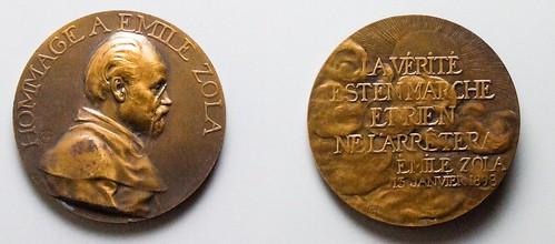 Emil Zola medal