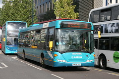 metropolitan area, vehicle, transport, mode of transport, public transport, dennis dart, land vehicle, bus,