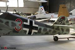 Red 3 - 163306 - Luftwaffe - Messerschmitt Bf109 G-6 - Polish Aviation Musuem - Krakow, Poland - 151010 - Steven Gray - IMG_9989