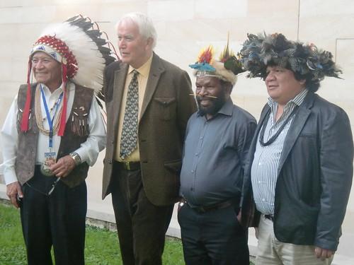 Harlyn Geronimo, J-C Boulard, Mundiya Kepanga, Almir Narayamoga Suruí