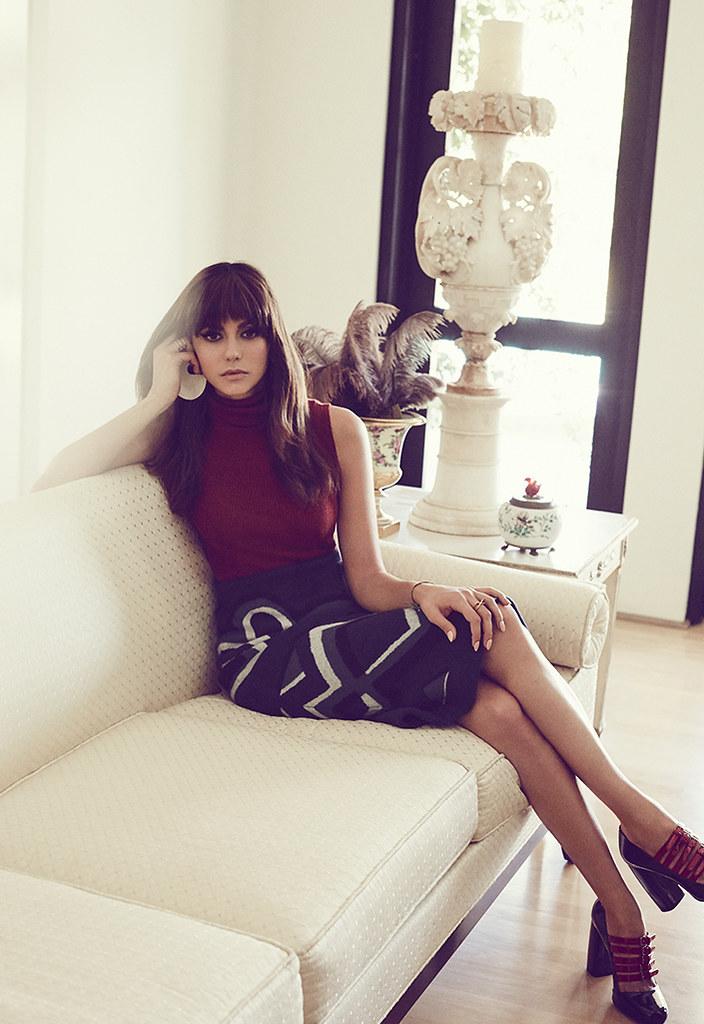 Нина Добрев — Фотосессия для «Who What Wear» 2015 – 2