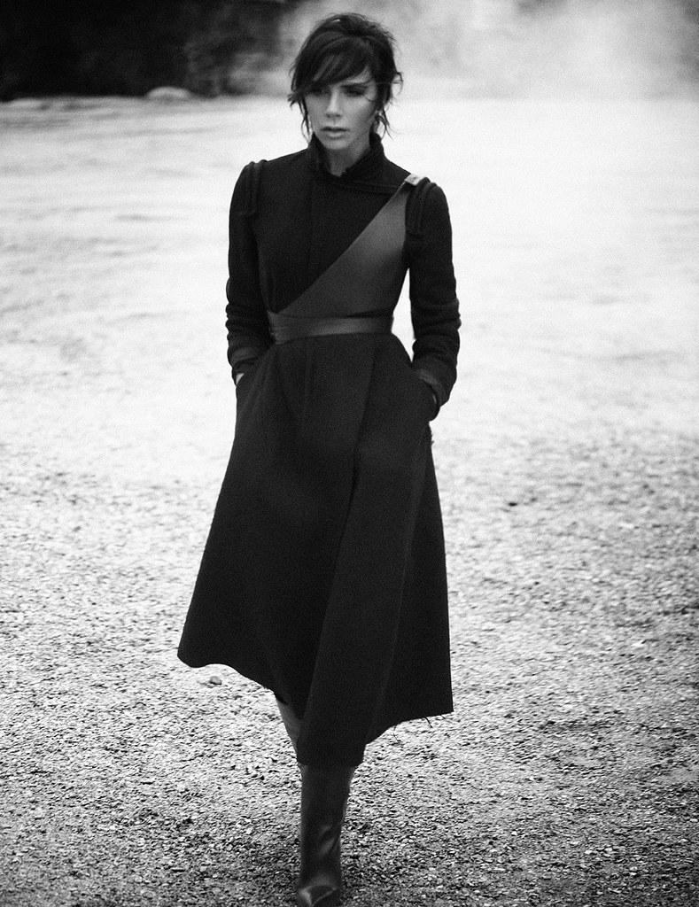 Виктория Бекхэм — Фотосессия для «Vogue» DE 2015 – 6