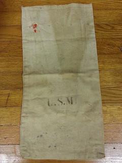 Early canvas U.S. Mint bag