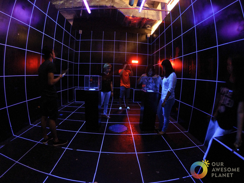 VIRTUAL VOYAGE: Ocular Rifts and Sci-Fi Mystery Room Challenge @MysteryManila