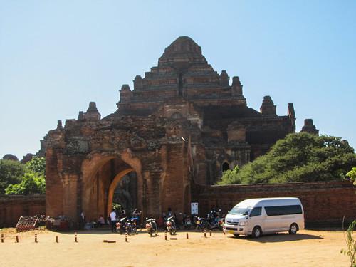 Bagan: le temple Dhammayangyi Patho