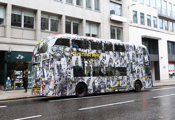 G star raw bus