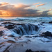 Thor's Well at Sunset by Rob Kroenert