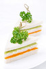 sandwich with vegetable puree