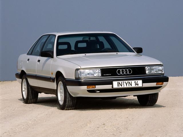 Полноприводный седан Audi 200 quattro. 1988 – 1991 годы