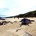 White beach at Oldshoremore. by Blue Poppy
