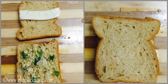Egg Sandwich Recipe for Toddlers and Kids - step 4