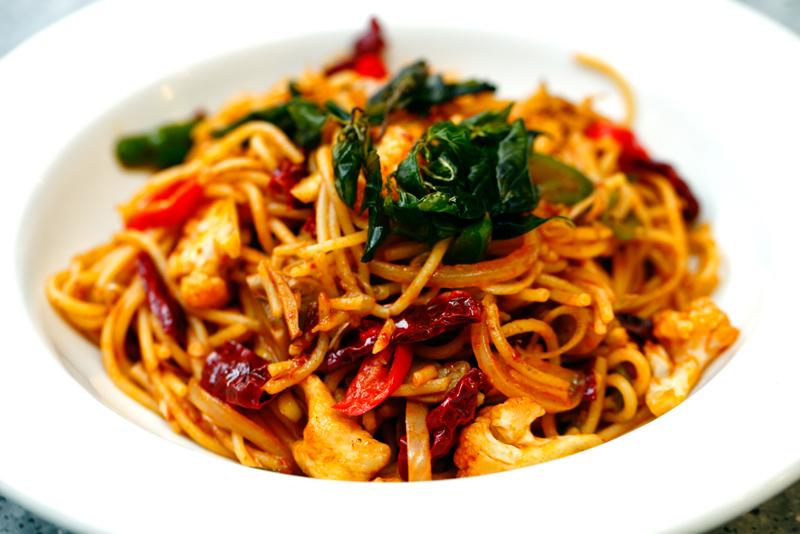 Poppo Kanteen Spicy Fried Spaghetti
