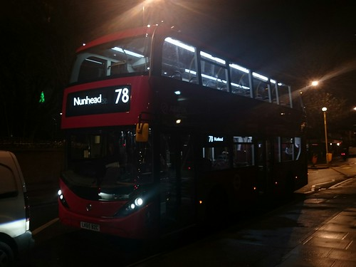 Arriva London HA6, LK65BZC in Bermondsey on route 78 to Nunhead