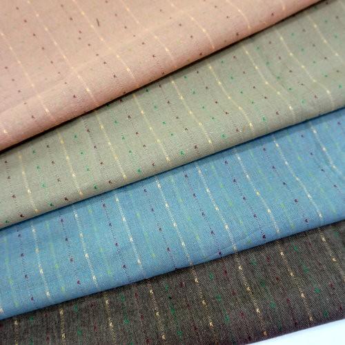 CA1600003 繡線先染布  滾邊配布 手工藝DIy拼布布料 3尺8(日本進口)