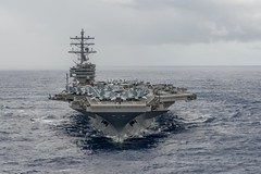 USS Ronald Reagan (CVN 76) file photo. (U.S. Navy/MC3 Nathan Burke)