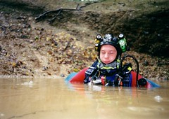 Greg in the entrance pool of Fontainne du Truffe Image
