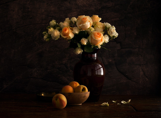 Roses and Peaches