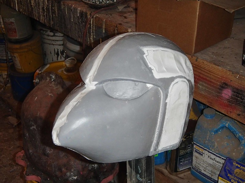 SM Beaky Helmet Base Widened and Ears Removed