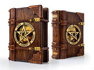 難道我是傳說中的大魔導師也要告訴你嗎?超美的魔導書筆記本讓你的中二心魔力大爆發~