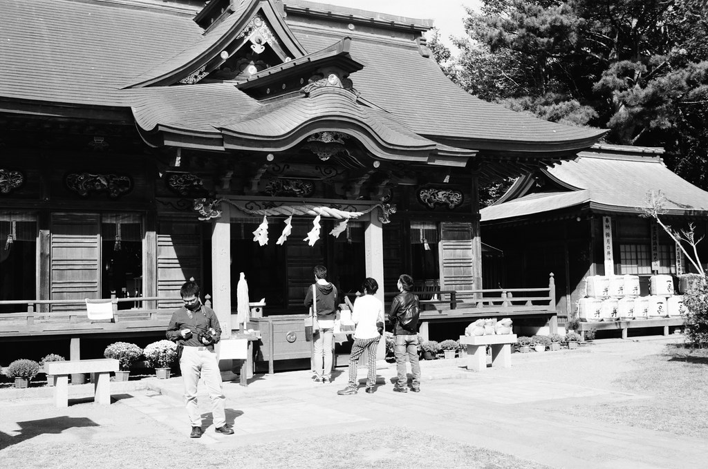 Isosaki jinja shrine