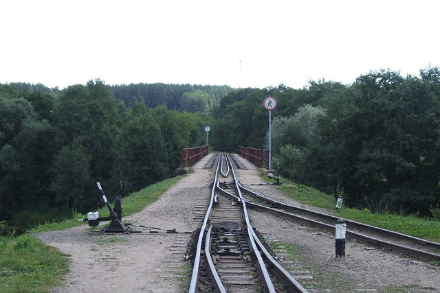 Narrow-gauge railway bridge, 04.08.2013.