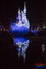 Blue Castle Reflection