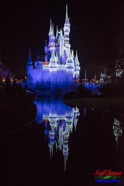 Blue Castle Reflection