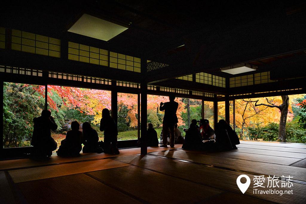 京都赏枫景点 琉璃光院 37