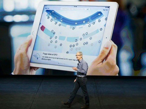 Apple lanza el iPad Pro, más potente y de mayor formato