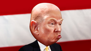 Donald Trump - Bald