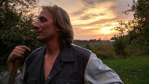 sunset soleil ciel nuages crépuscule jeanpaul