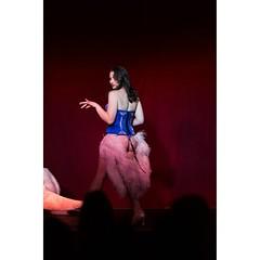 #butterflyclub #burlesque #lingerie #corset #featherboa #heels #gstring #ravenhair #stageshow #stripteaser