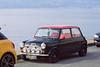 День 6. Закат на Женевском озере - неподалеку был припаркован красивый, раритетный, настоящий мини купер!
