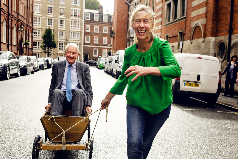 Sir Robin and Nell Butler for the Sunday Times Magazine