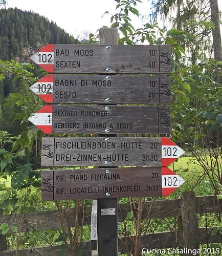 Bad Moos Fischleintal - Wegweiser