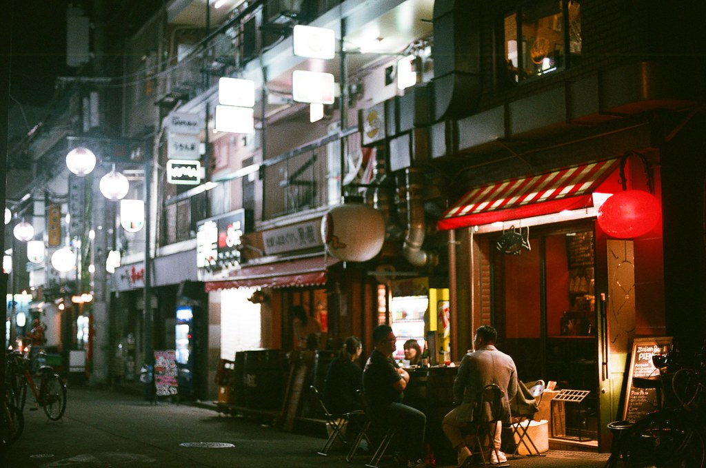 大阪 Osaka 2015/09/20 抵達大阪的晚上  Nikon FM2 Nikon AI Nikkor 50mm f/1.4S AGFA VISTAPlus ISO400 Photo by Toomore