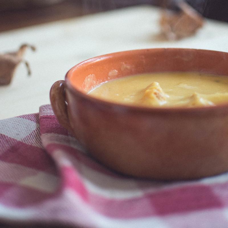 Potatoes + Pumpkin Soup
